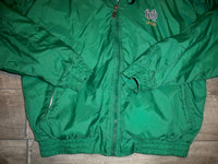 Vintage Holloway Notre Dame Football Fighting Irish Windbreaker Jacket Men's Medium