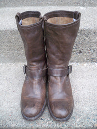 Frye 76920 Harness Leather Women's Motorcycle Engineer Chopper Riding Soft Toe Boots Size 8.5