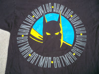 Vintage Batman Black T Shirt JG Hook Men's Made in USA 100% Cotton Size XLarge
