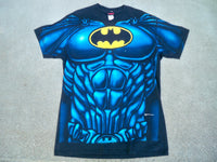 Vintage 90s Batman Black T Shirt DC Comics Men's Made in USA 100% Cotton Size Large