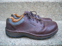 Red Wing #2324 Brown Leather Women's Work Steel Toe Lace Up Shoes Oxfords Size 9 Wide