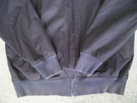 Vintage Nike Michael Jordan Black Herringbone Basketball Jacket Coat Size Medium