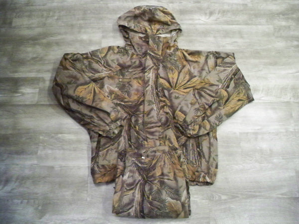 Vintage COLUMBIA Men's Camo Camouflage Buckeye Vanish Hunting Coat Jacket & Pants L