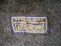 "Antique Automobile Driving Bearskin Chicago Auto Driver Robe Spring-Belt Blanket Size 46"" X 57"""