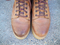 Red Wing Men's Rubberneck Ankle Work Hunting Leather Plain Soft Toe Boots Size 5 Made in USA