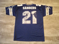Vintage Logo Athletic Deion Sanders Dallas Cowboys Men's Jersey Uniform Size Large 46-48 Made in USA