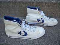 Vintage CONVERSE ABA Basketball High Top Men's Dr. J Sneaker Shoes Kicks 8.5