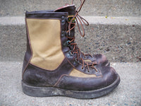 "8"" Danner Cabela's 69610 Brown Leather 200 Gram Insulated Men's Hunting Work Boots Size 9.5"