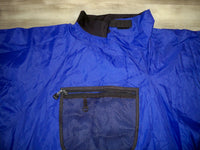 Vintage Kokatat Paddling Kayaking Boating Purple Nylon Jacket Men's Size Large Made in USA