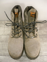 Red Wing Irish Setter 2862 Gray Leather Rubberneck Boots Soft Toe Hunting Work 8