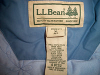 LL Bean Goose Down Baby Blue Gore-Tex Coat Jacket Parka Women's Size XL Regular