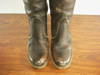 FRYE Women's # 77234 Jane 14L Tall Western Stacked Heel Knee-High Boots Size 6.5