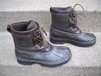 Polo Ralph Lauren Crestwick Leather Rubber Sport Hunting Men Boots Shoes Size 10