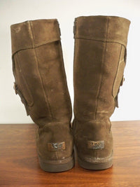 Ugg Australia Cargo 5918 Women's Sheepskin & Leather Winter Snow Boots Size 6