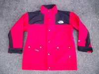 Vintage 90's The North Face Gore-Tex Red Nylon Jacket Coat Men's Size Large
