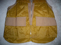 Vintage Cabela's Men's Hunting Birding Shooting Vest Medium 40-42 W/ Game Bag