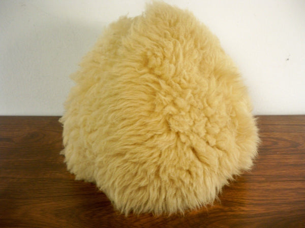 Vintage Shearling Bomber Riding Motorcycle Hunting Pilot Cap Hat Size Small SM