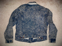 Vintage Young Guns Movie Vestron Video Studio Denim Jean Men's Jacket Coat Medium