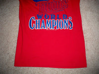 Vintage 1987 Minnesota Twins World Champions Made in USA T-shirt Tee Mens Size M