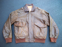 Vintage Cooper New Zealand Leather Flight Motorcycle Biker Riding Mens Jacket Coat M