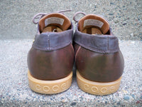 Coogi Australia Brown Leather Mens Oxfords Casual Lace Up Preppy Shoes Size 10.5