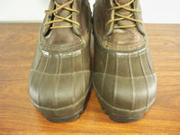 "LaCrosse ""Big Mountain"" Brown Leather Snow Winter Mens Work Hunting Boots Size 7"
