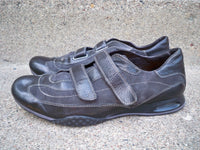 Cole Haan Black Leather Men's Strappy Dress Walking Driving Shoes Size 11.5 M