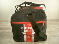 Vintage Chicago Bulls NBA Carry On Weekender Overnight Travel Duffle Bag Pack