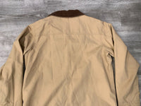 Vintage LL BEAN Brown Cotton Barn Chore Work Coat Jacket Women's Size Large