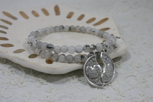 Love + Loss Mizpah Remembrance Bracelet