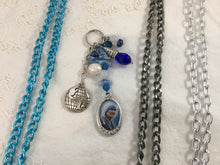Mother Teresa or Miraculous Medal | Blue + White Verity Charm Bundle
