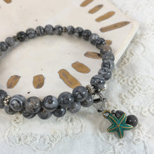 Maren | 40-Day Journey Bracelet in Silver Crazy Lace Agate