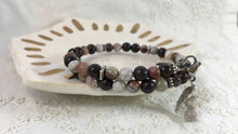 Mirabel | 40-Day Journey Bracelet in Laguna Lace Agate + Red Jasper