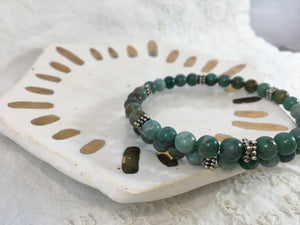"Vita | 40-Day Journey Bracelet in African ""Jade"""
