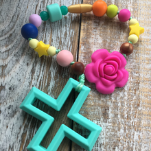 Kids or baby decade rosary inspired by Our Lady of Guadalupe
