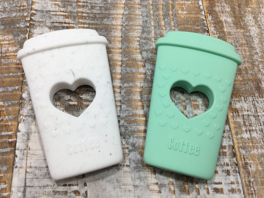 Coffee Add-On in Mint or White Speckle