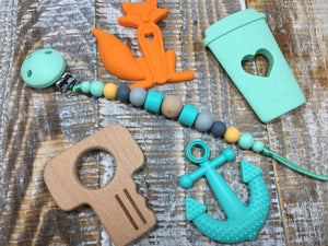 Anchor Add-On in Royal or Turquoise