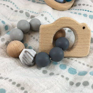 Limited Release | Wooden Figure + Silicone Teethers
