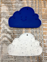 Cloud Add-On in White Speckle or Royal Blue
