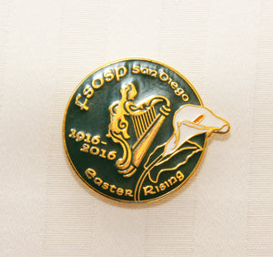 Friendly Sons Easter Rising Centennial Lapel Pin