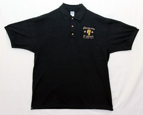 Friendly Sons Men's Polo Shirt - Black