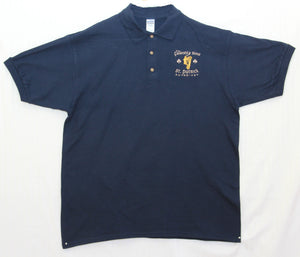 Men's Friendly Son Polo Shirt - Navy