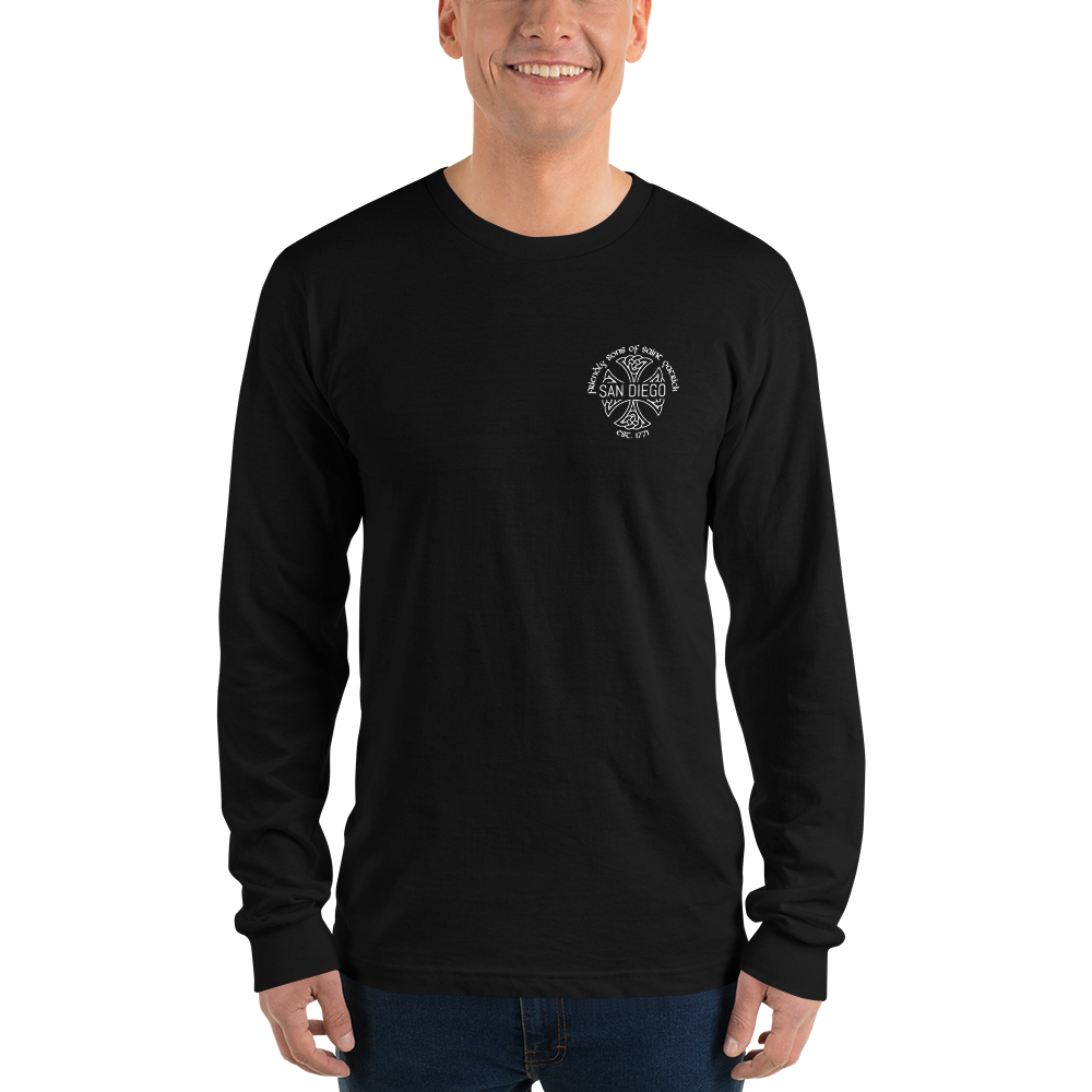 Friendly Sons of St. Patrick Basic Long Sleeve Tee