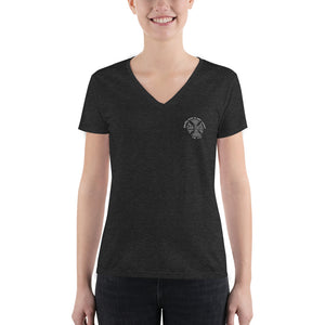 Friendly Sons of St. Patrick Women's Deep V-neck Tee