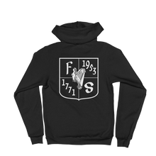 Load image into Gallery viewer, Friendly Sons of St. Patrick Basic Black Hoodie