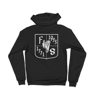 Friendly Sons of St. Patrick Basic Black Hoodie