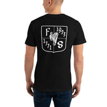 Load image into Gallery viewer, Friendly Sons of St. Patrick Basic Fitted Tee - Black