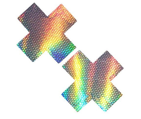 Liquid Party Holographic X Factor Pasties