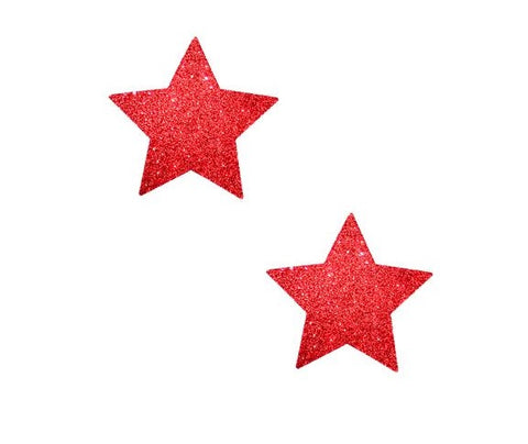 Ravish Me Red Glitter Star BodiStix 6PK