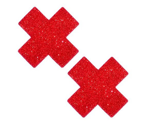 Ravish Me Red Glitter X Factor Pasties